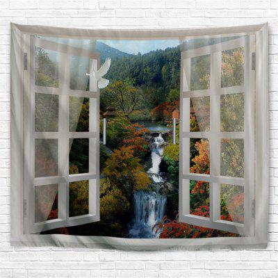 Out The Window Springs  3D Printing Home Wall Hanging Tapestry for Decoration