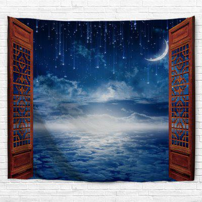 Meteor Shower Window 3D Printing Home Wall Hanging Tapestry for Decoration
