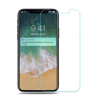 Ultra tenký 9H HD Anti Fingerprint 2.5D Screen Protector Film tvrdené sklo pre iPhone X
