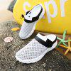 ZEACAVA Spring and Summer Breathable Mesh Lazy Shoes - CINZA CLARO
