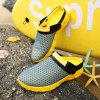 ZEACAVA Spring and Summer Breathable Mesh Lazy Shoes - YELLOW