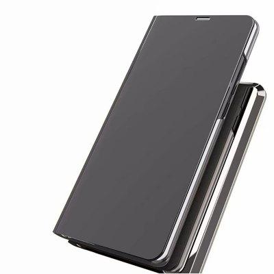 Luxe Smart Clear View Spiegel Flip Case Stand Cover voor Xiaomi Redmi Note 5 Pro