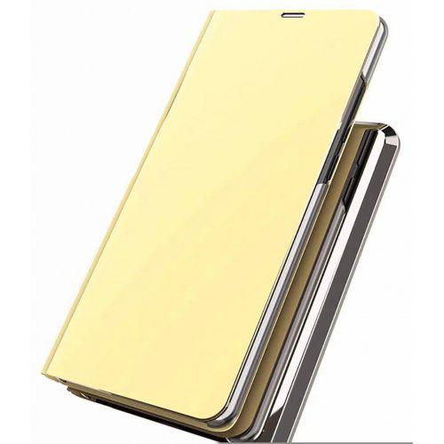new product 6ca14 c7d8c Luxury Smart Clear View Mirror Flip Case Stand Cover for Xiaomi Redmi Note  5 Pro