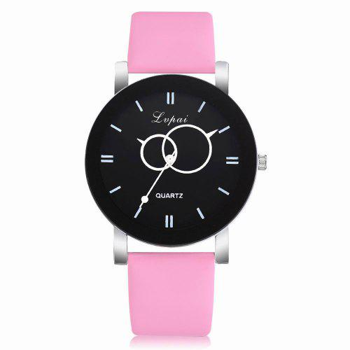 2018 Women Slim Leather Strap Wristwatch Casual Girl With Monkey Quartz Watch Ladies Big Round Dial Watches Female Watches Gift Men's Watches Watches