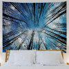 A Forest 3D Printing Home Wall Hanging Tapestry for Decoration - MULTI-A