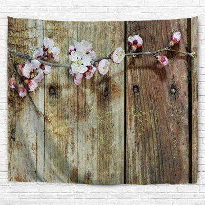 Board Flowers 3D Printing Home Wall Hanging Tapestry for Decoration
