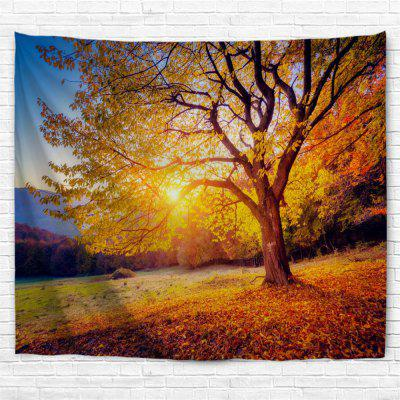 Sunshine Beech 3D Printing Home Wall Hanging Tapestry for Decoration