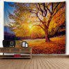 Sunshine Beech 3D Printing Home Wall Hanging Tapestry for Decoration - MULTI-A