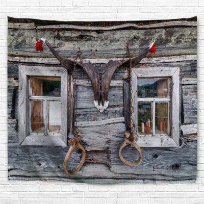Horn Window 3D Printing Home Wall Hanging Tapestry for Decoration