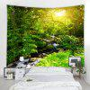 Forest Creek  3D Printing Home Wall Hanging Tapestry for Decoration - MULTI-A