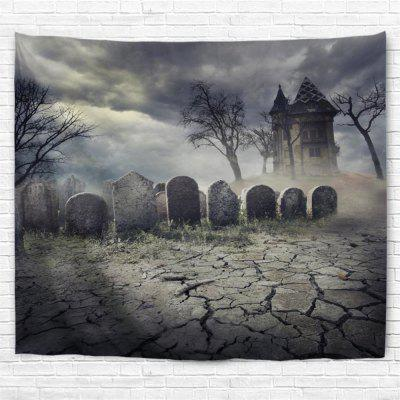 Wilderness Tombstone 3D Printing Home Wall Hanging Tapestry for Decoration