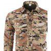 Outdoor Removable Long Sleeve Breathable Quick-drying Shirt - MULTICOLOR-C