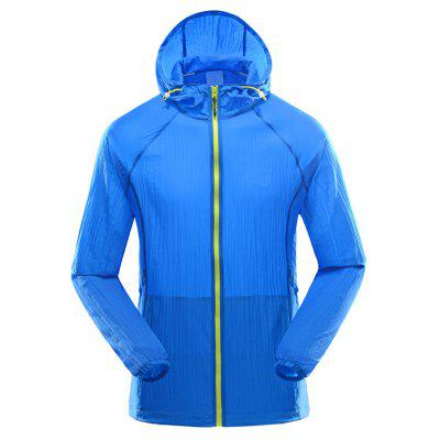Men Lightweight Sun Protection Thin Skin Coat Quick-Dry  Jackets