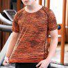 Men Outdoor Quick-Dry T-shirt - ORANGE