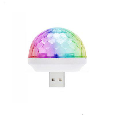 USB Disco Light Crystal Magic Ball portabil Stage Home Party