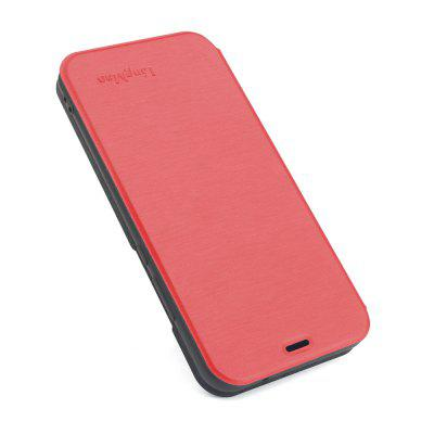 Hoesje voor iPhone 6 Plus / 6s Plus Brushed Texture Voltage Type Cover