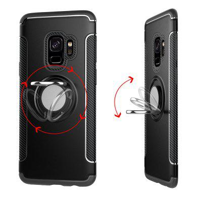 Acoperire pentru Samsung Galaxy S9 Hibrid Car Magnetic Suport Shockproof TPU PC