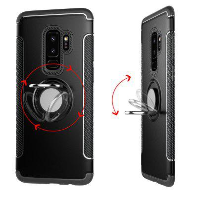 Cover Case for Samsung Galaxy S9 Plus Hybrid Car Magnetic Holder Shockproof