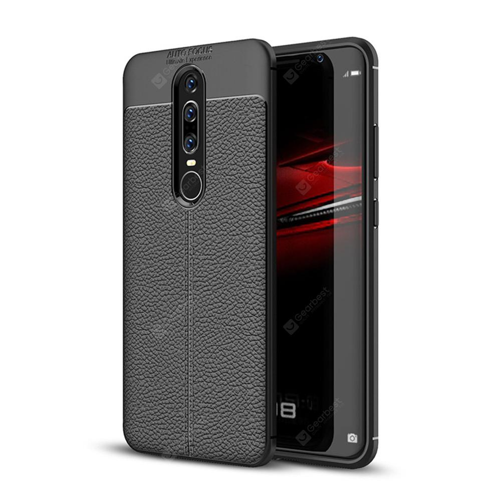 Case for Huawei Mate RS Shockproof Back Cover Solid Color Soft TPU