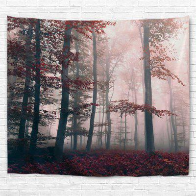 Mysterious Forest 3D Printing Home Wall Hanging Tapestry for Decoration