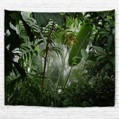 Misty Rainforest 3D Printing Home Wall Hanging Tapestry for Decoration