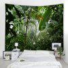 Misty Rainforest 3D Printing Home Wall Hanging Tapestry for Decoration - MULTI-A