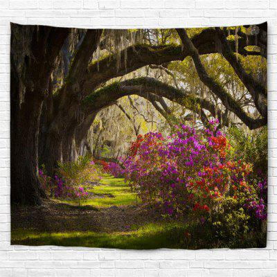 Oak Azaleas 3D Printing Home Wall Hanging Tapestry for Decoration