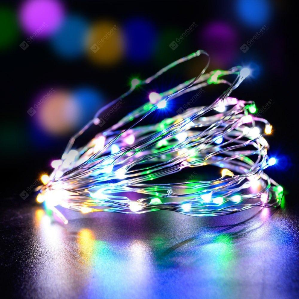 10M LED String Lights Home  Wedding Party Decoration Powered by Battery