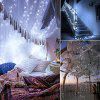 10M LED String Lights Home  Wedding Party Decoration Powered by Battery - BRANCO FRESCO