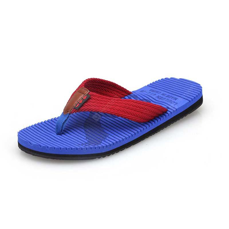 Casual Tide Flip-Flops Manufacturers Sands Slippers Men Beach Shoes