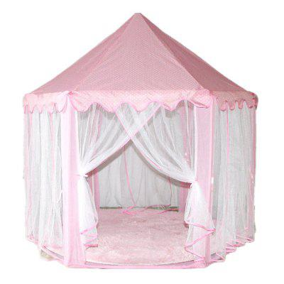 Children Indoor Game House Tents of Six Corner Tents colorful rainbow princess indoor decoration children tent baby toy tent kids game play house tents children with mosquito net