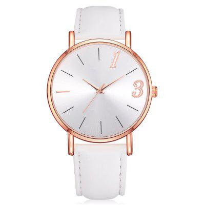 Lvpai P310 Women Simple Casual PU Leather Wrist Watch