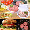 Multi-functional Creative Manually Meatloaf Mold Hamburger Making Kitchen Tool - WHITE