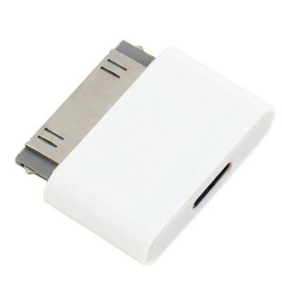 Micro USB to Male 30-PIN Connector for iPhone 4 4S