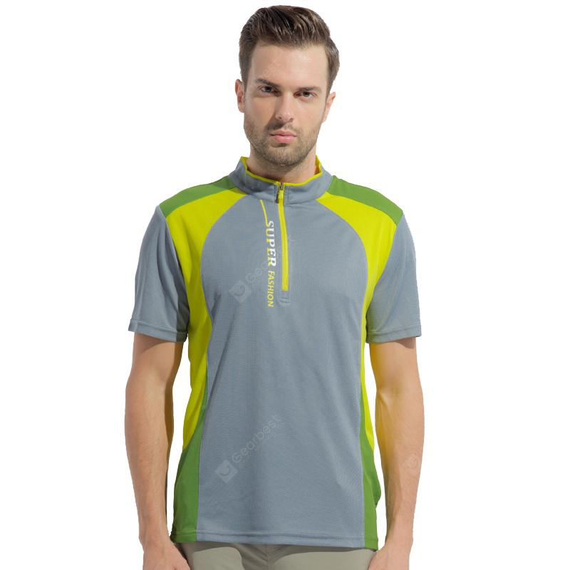 Men Outdoor Short Sleeve Quick-drying T-shirt