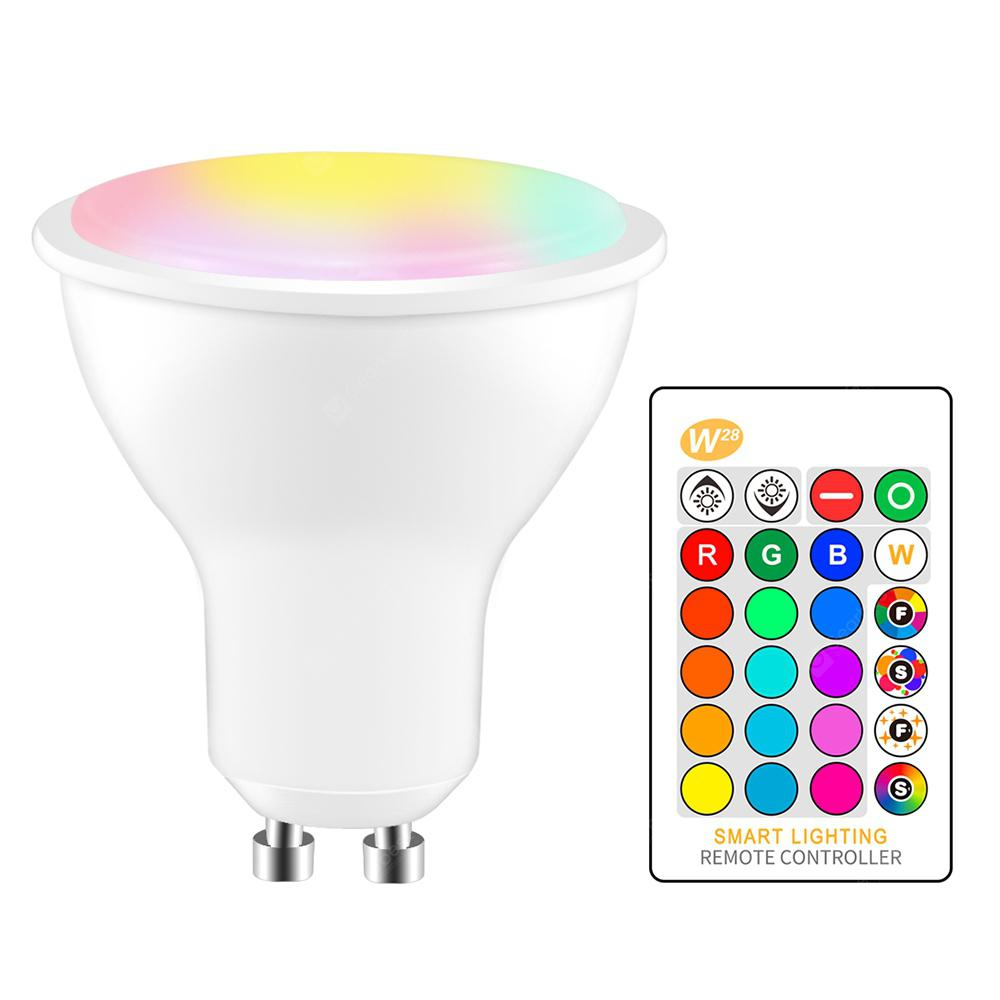 OMTO 5W RGBW LED Bulb GU10 Color Changing Atmosphere Lighting LED Lamp - MULTI-A