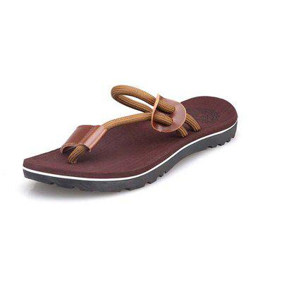 Vietnam Tide Flip-Flops Manufacturers Sands Sandals Slippers Men Beach Shoes cuena 6605 genuine leather band quartz men watch