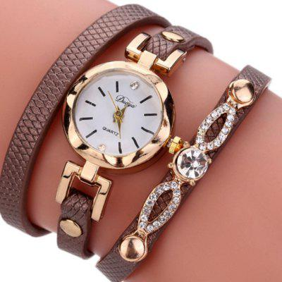 DUOYA Fashion Women's Quartz Dress Bracelet Watch
