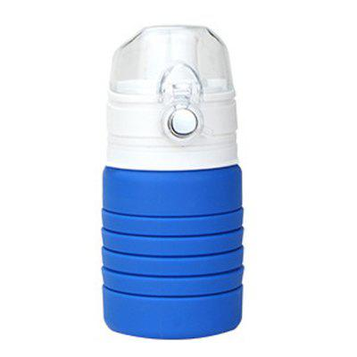 Creative Silicone Foldable Outdoor Sports Water Bottle