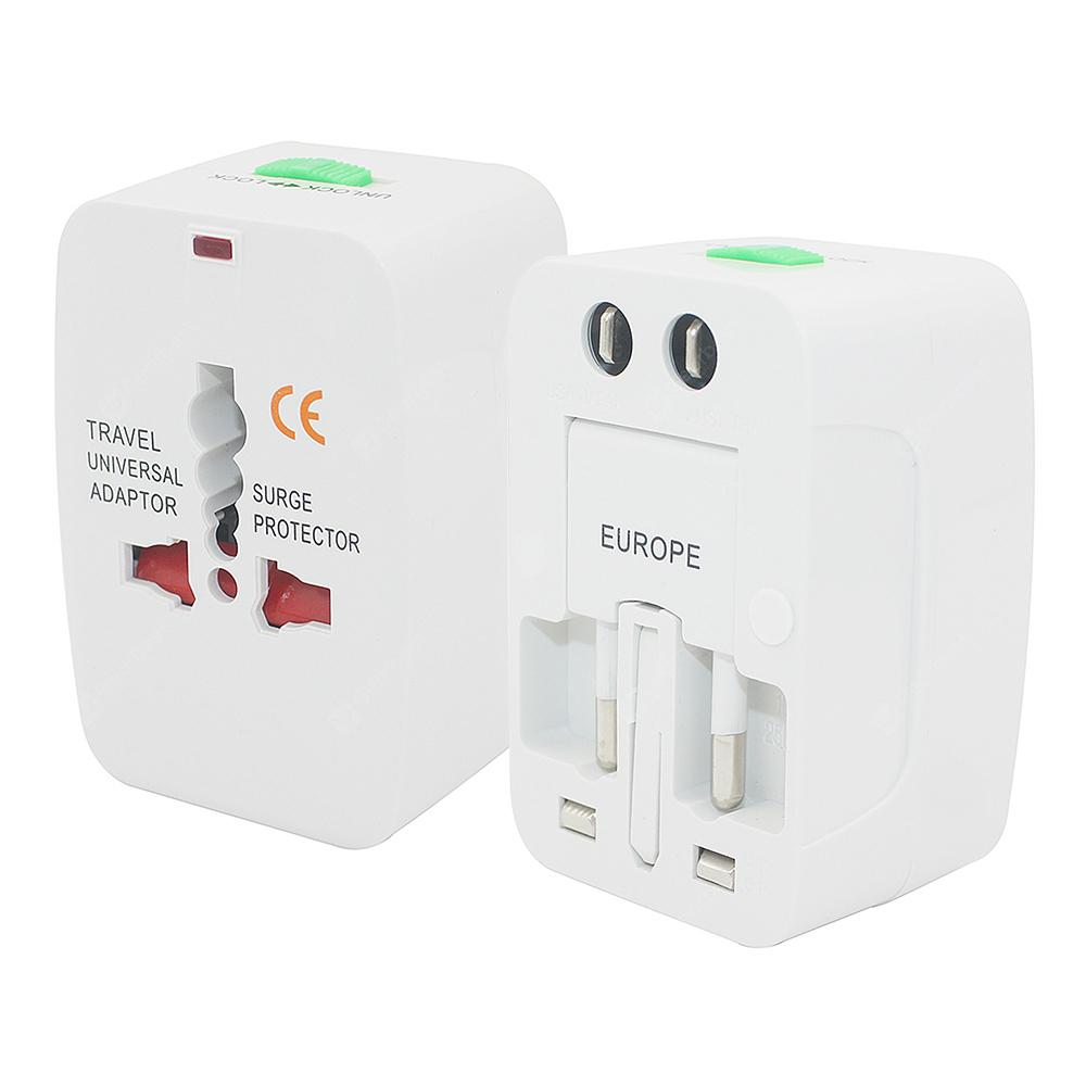 Minismile Universal Multifunction EU / US / UK / AU Plug Travel Power Adapter