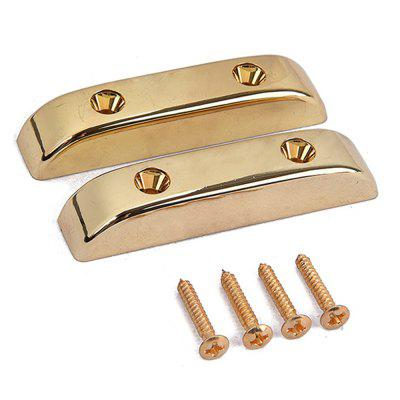 Gold Thumb Rest for Bass Guitar 2PCS