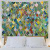 Scale 3D Printing Home Wall Hanging Tapestry for Decoration - MULTI-A