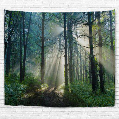 Dense Forest 3D Printing Home Wall Hanging Tapestry for Decoration