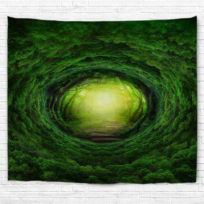 Eye of the Forest 3D Printing Home Wall Hanging Tapestry for Decoration