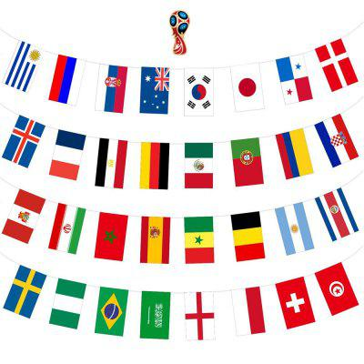 Flags Set of 32 Country Banner Decorations