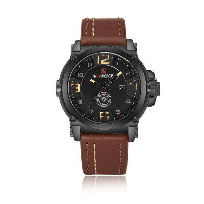 NAVIFORCE Top Luxury Brand Men Sport Military Quartz Wrist Watch