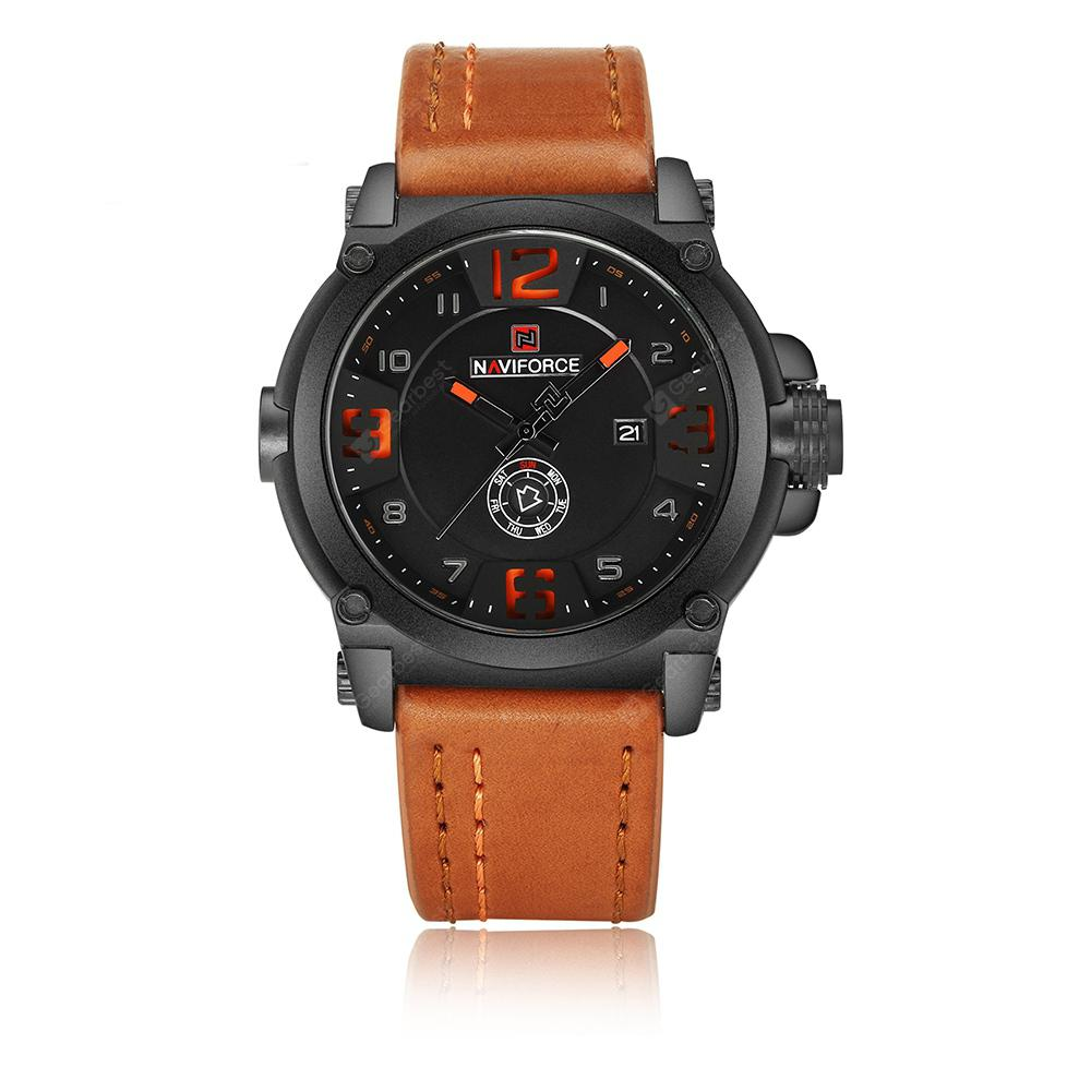 NAVIFORCE Top Luxury Brand Men Sports Military Quartz Wrist Watch