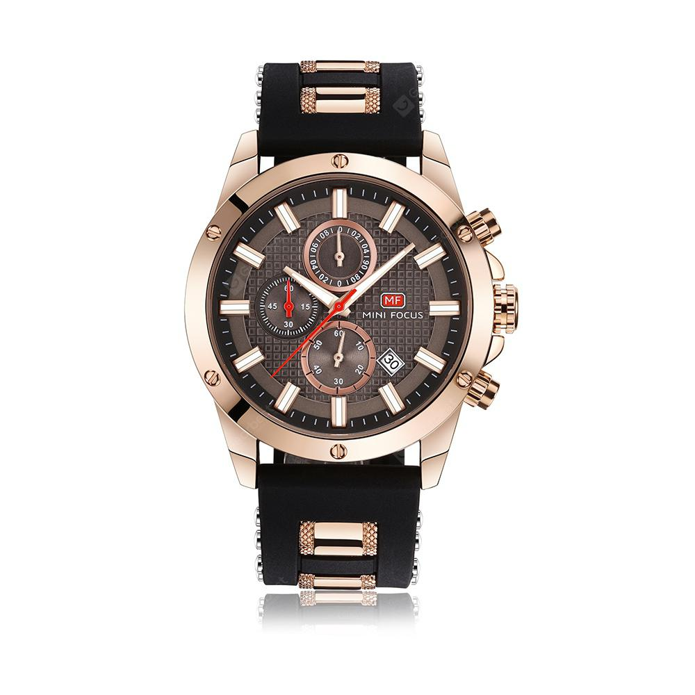 MINI FOCUS Top Brand Luxury Chronograph Men Sports Men's Quartz Watch