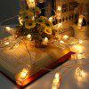 3M Led Photo Clip String Lights 20 Led batteriebetriebenes Indoor - WARMWEIß