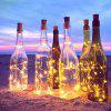 YWXLight 1 M LED Bottle Stopper String Lights LED Solar Copper Wire Lamp 4PCS - WARM WHITE